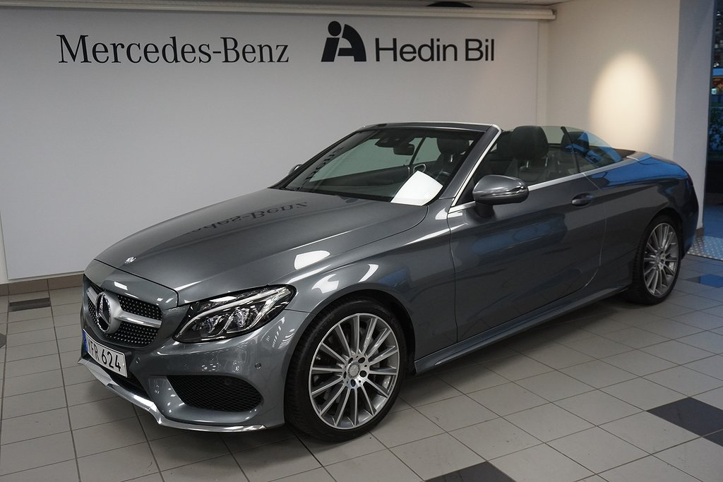 Mercedes-Benz C 300 Cabriolet // AMG Line //