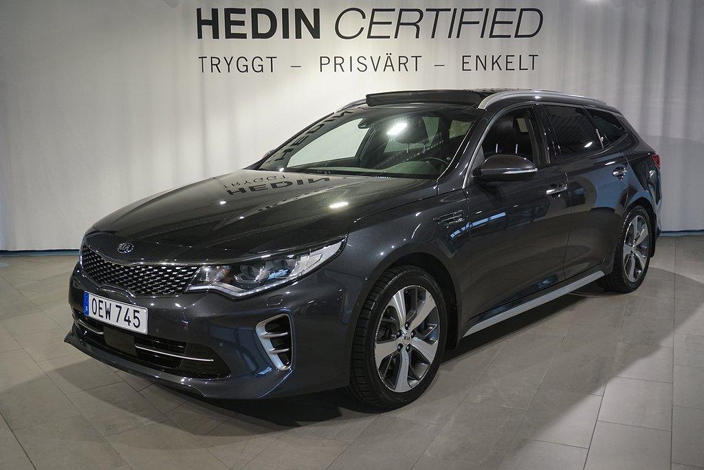 Kia Optima 1.7 CRDI DCT GT-Line 141hk *Drag