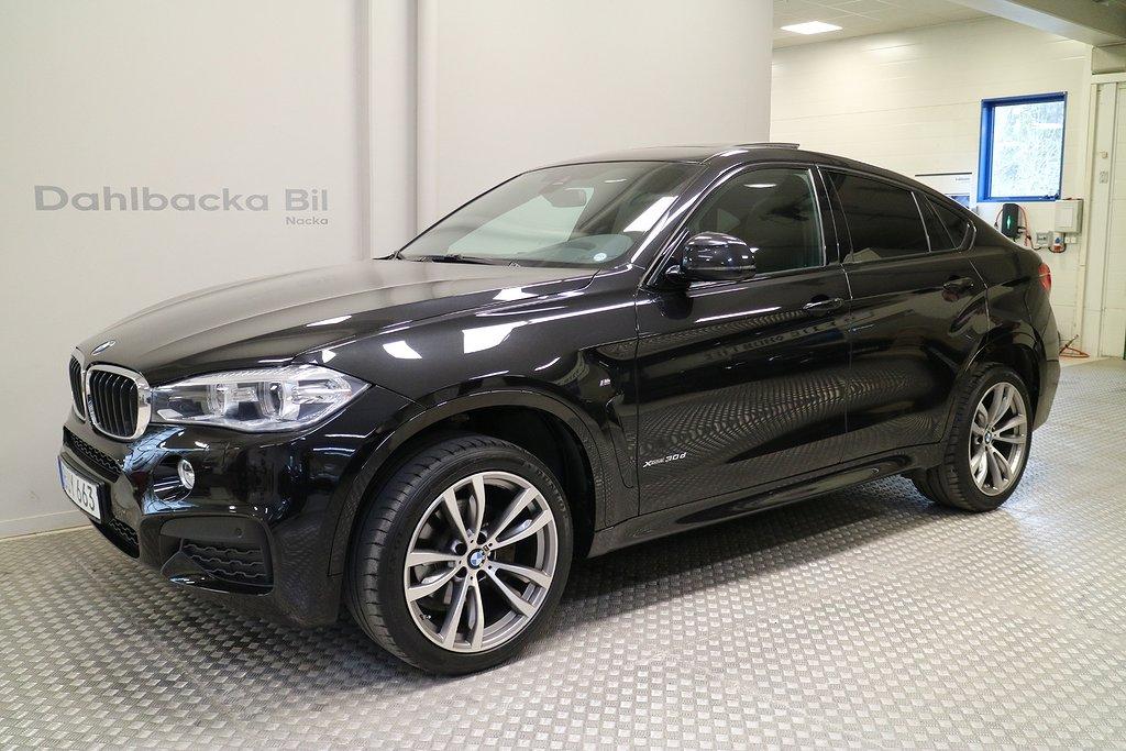 BMW X6 xDrive30d M Sport 258hk