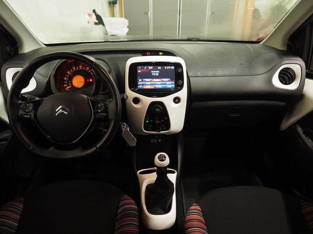 Citroën C1 1.2 VTi 82hk Euro 6 2016