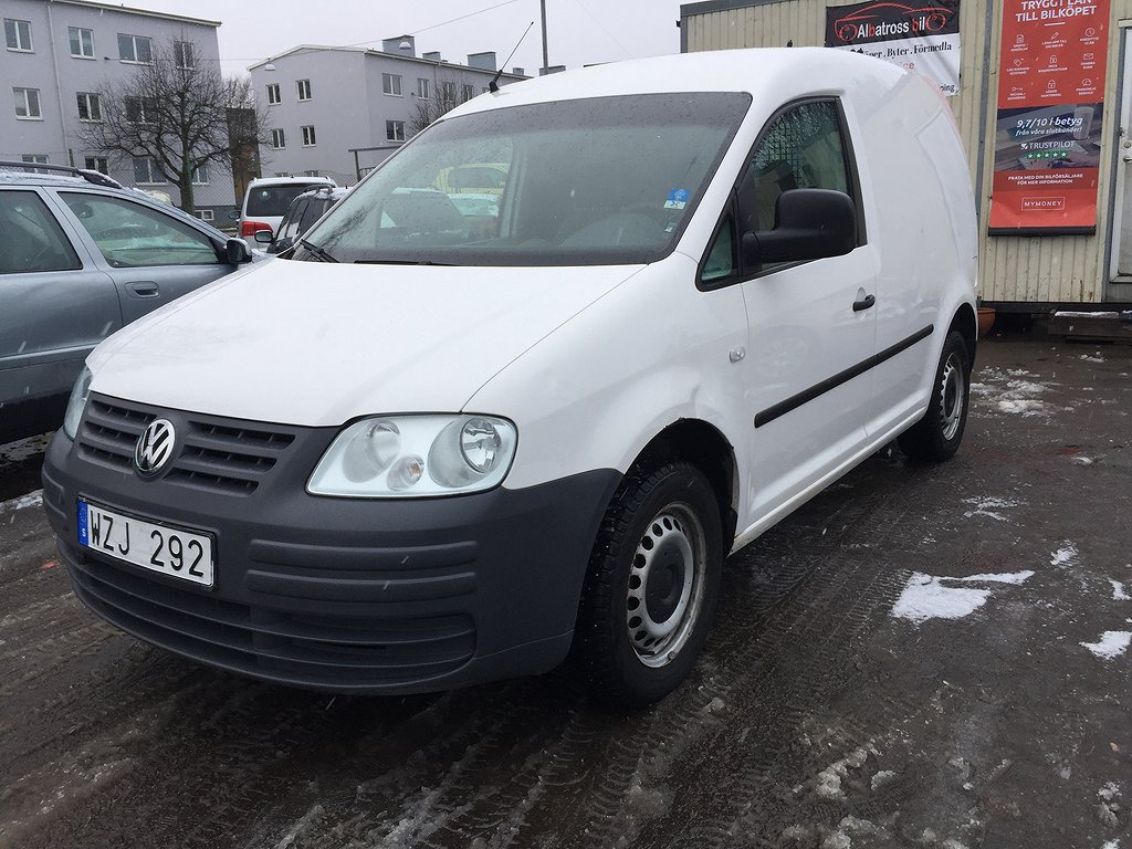 Volkswagen Caddy 1,9 TDI /Nybes/Ac/Drag/15000ML
