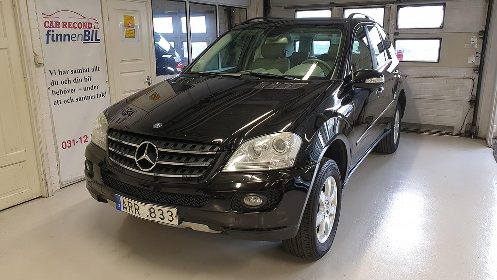 Mercedes-Benz ML 350 4MATIC 7G-Tronic Drag Besiktad