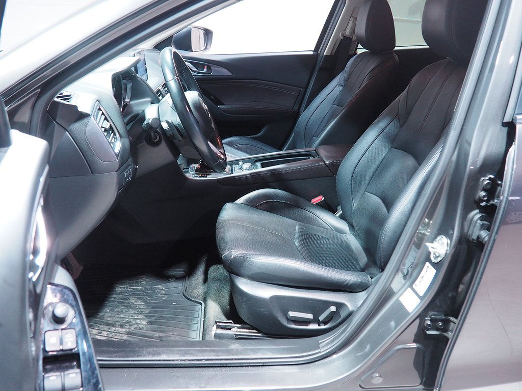 Mazda 3 Sport 2.2 150hk Aut Optimum Dieselv Dragkrok 2017