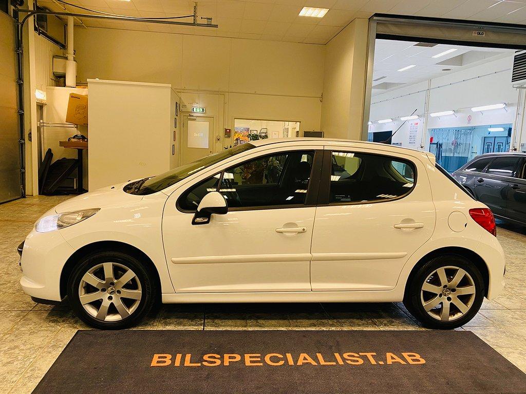 Peugeot 207 5-dörrar 1.6 VTi Kamkedja 120hk NY-BES 0%Ränta