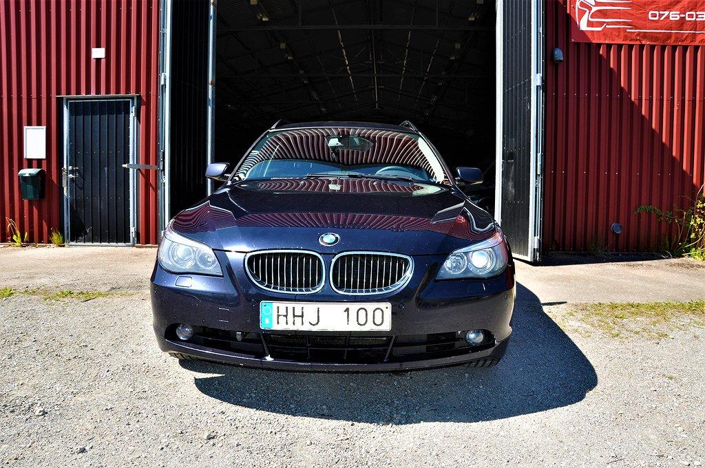 BMW 525ix i Touring 218hk /XDRIVE/ NY BESIKTAD/