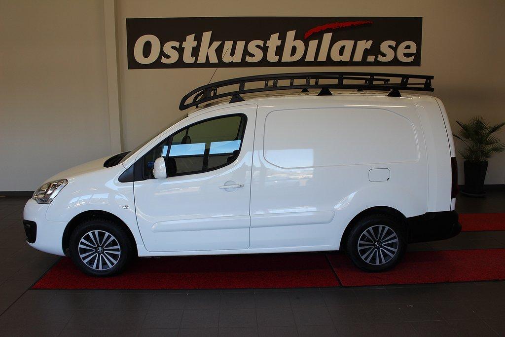 Peugeot Partner, L2 1.6 HDi 100hk Aut EU6 3 Sits