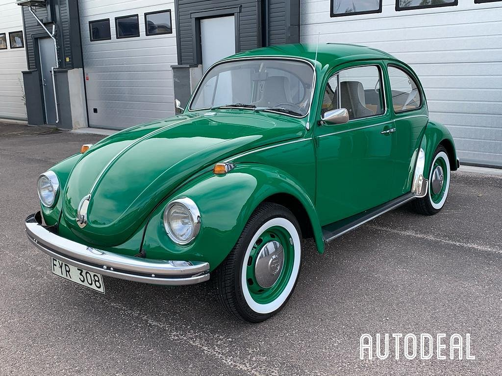 Volkswagen Bubbla 1.3 44hk / 7000mil / UNIK