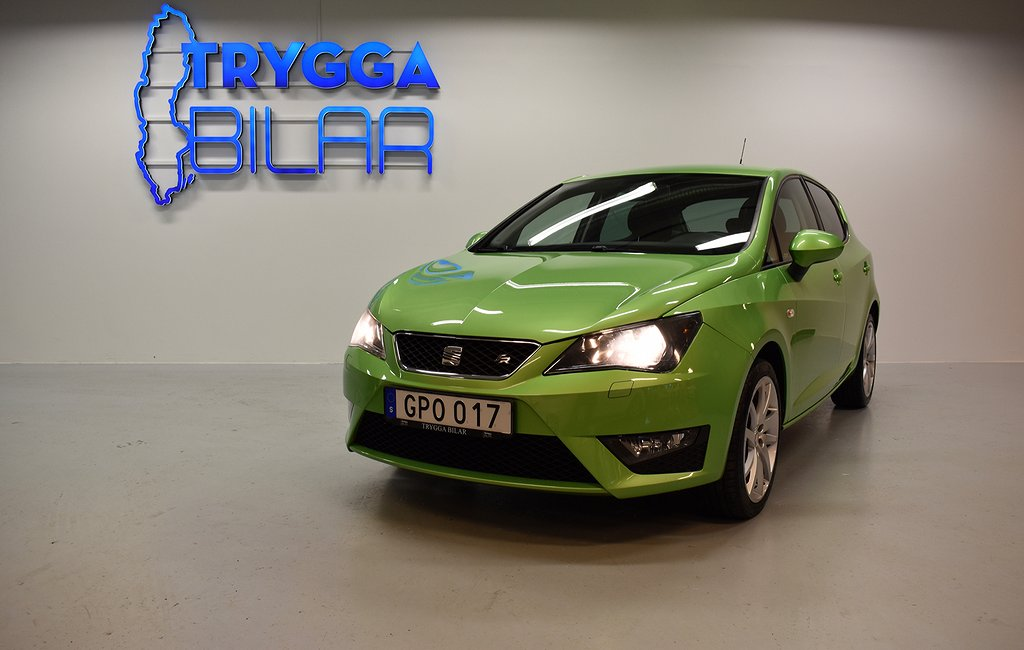 "Seat Ibiza 1.4 TSI DSG 150hk FR 17"" Fälgar/Sportratt"