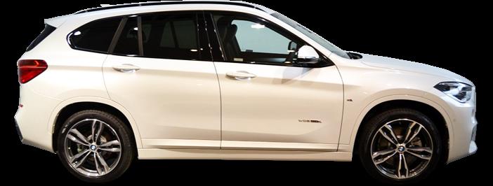 Modellbild av en BMW X1