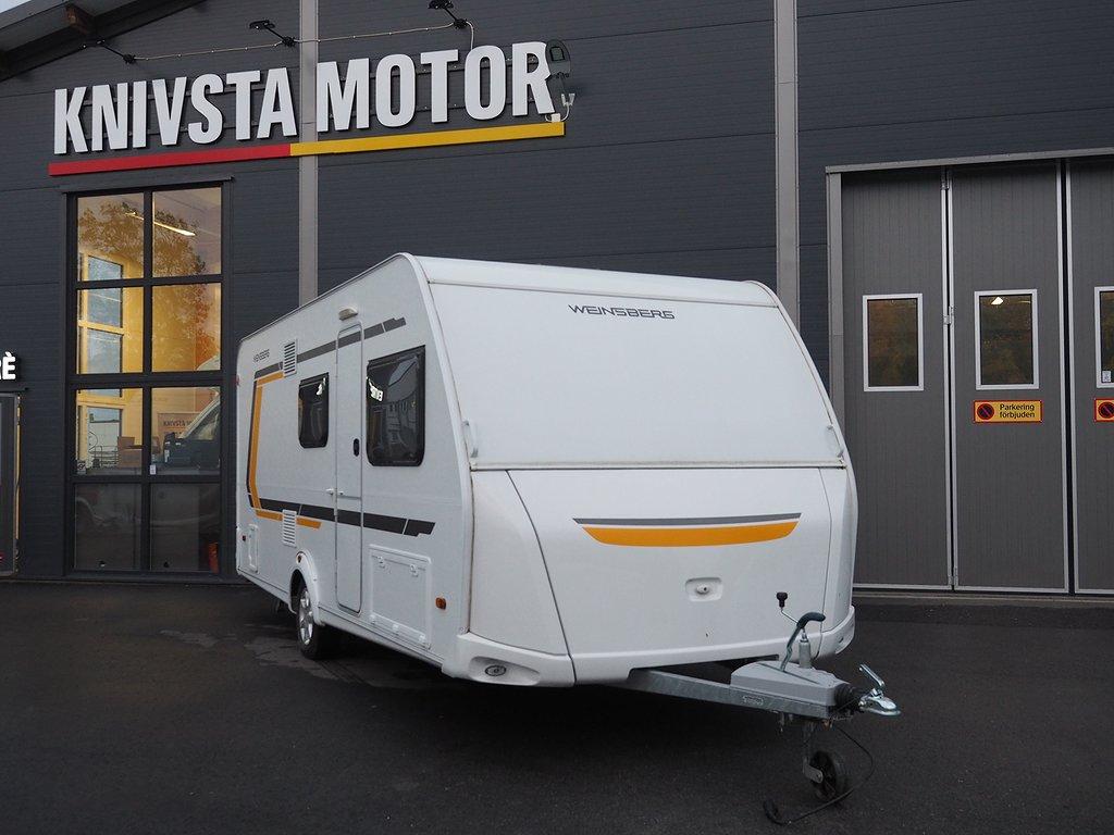 Weinsberg CaraTWO 500 QDK Barnkammarvagn 2017