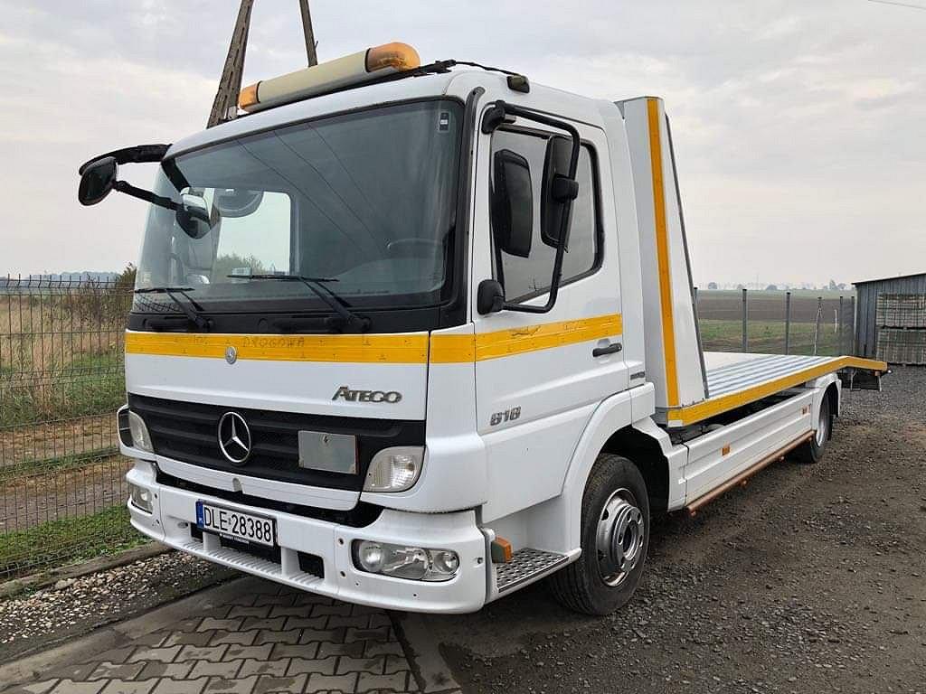 Mercedes-Benz Atego 818 Transport / Max last 3 ton