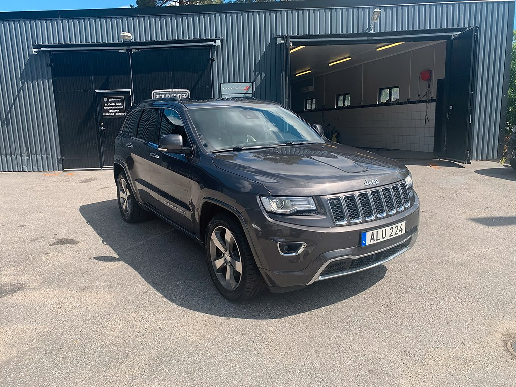 Jeep Grand Cherokee Overland 3.0 V6 CRD 4WD