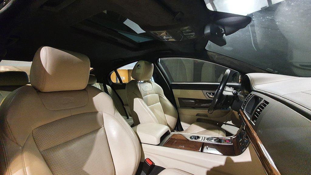 Jaguar XFR 510 hk Supercharge