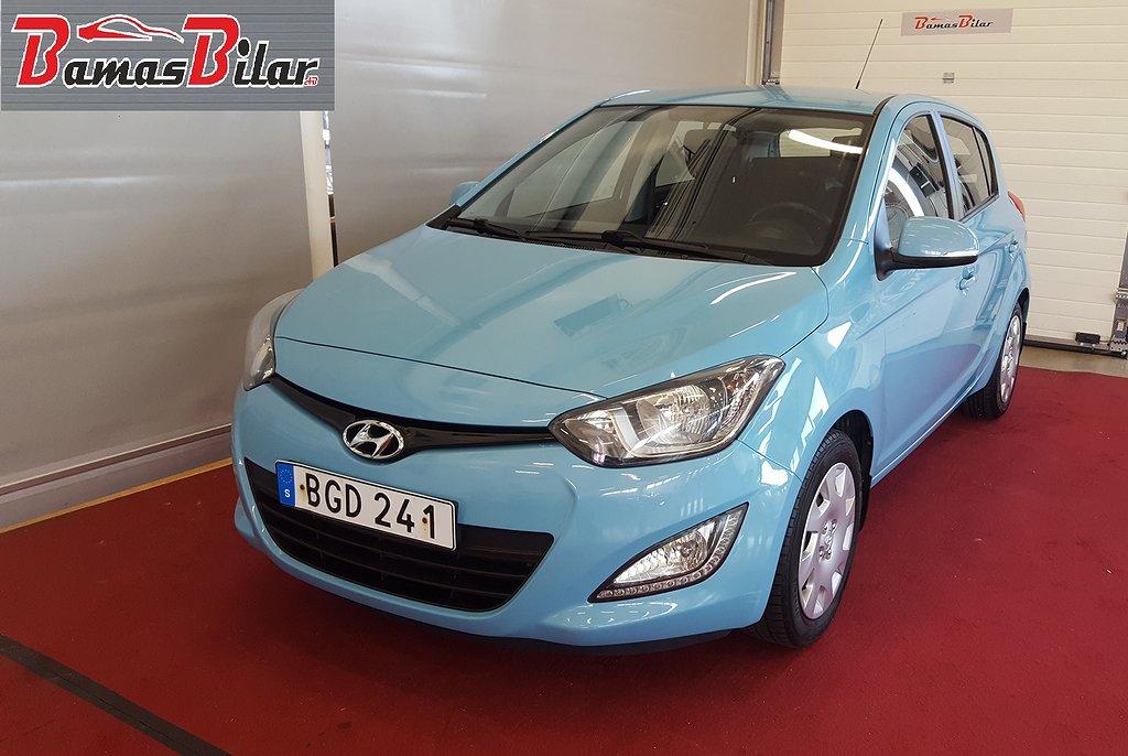 Hyundai i20 5-dörrar 1.2 86hk