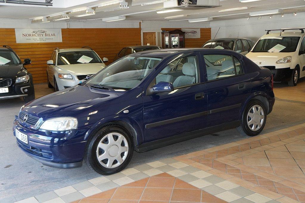 Opel Astra 1.6 / Besiktigad / 14400 Mil
