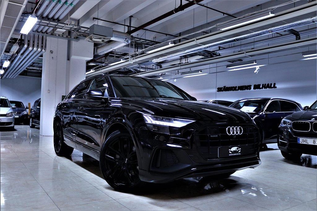 Audi Q8 50TDI 286hk QUATTRO S-LINE MATRIX 1-ÄGARE MOMSBIL