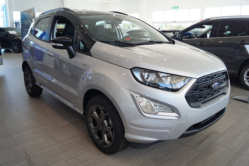 Ford Ecosport 1.0T EcoBoost 125hk ST-Line Suv*Demo*