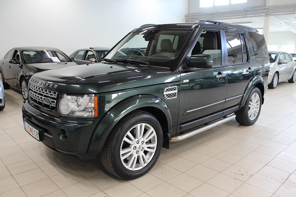 Land Rover Discovery 3.0 TDV6 4WD AUT 7-SITS 245hk