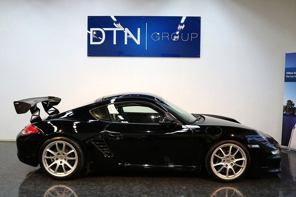 "Porsche Cayman S, (400hk), Trackday, ""GT4"""