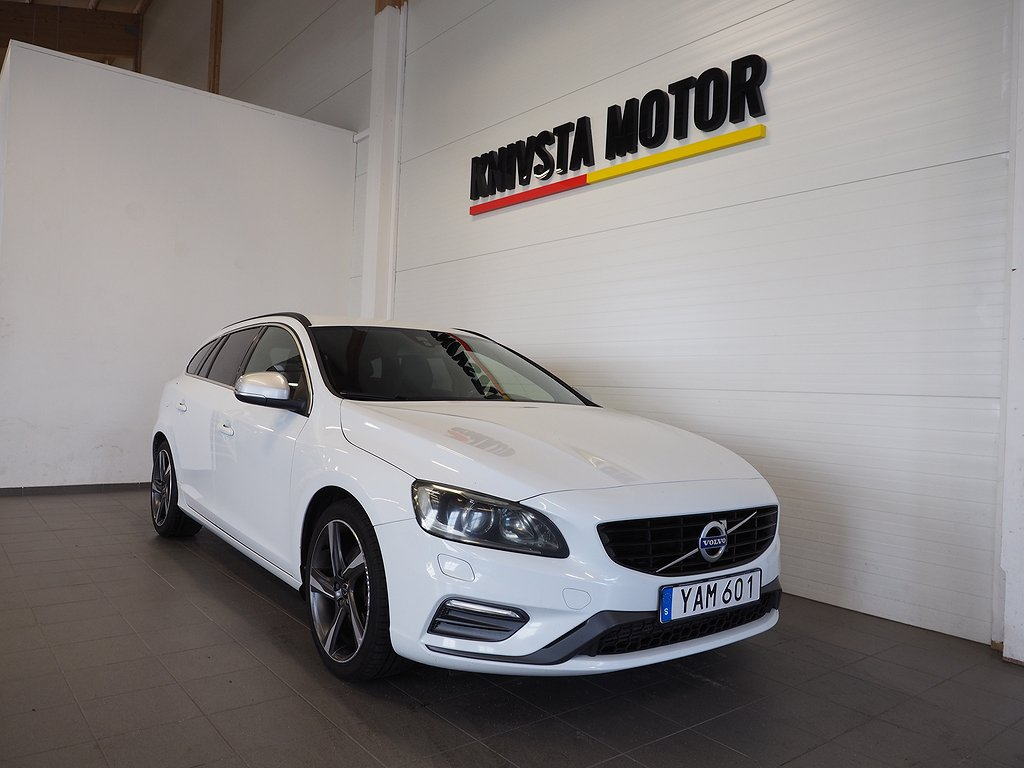 Volvo V60 D4 Aut R-Design Volvo on call 2016