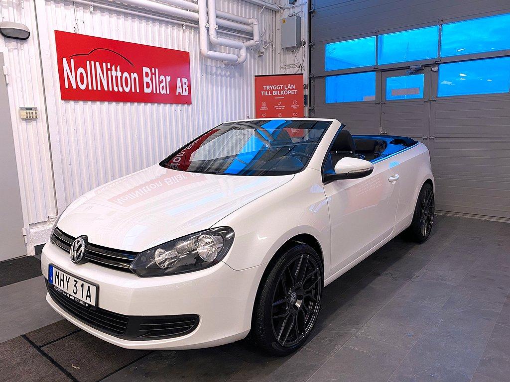 Volkswagen Golf Cabriolet 1.2 TSI BlueMotion 105hk