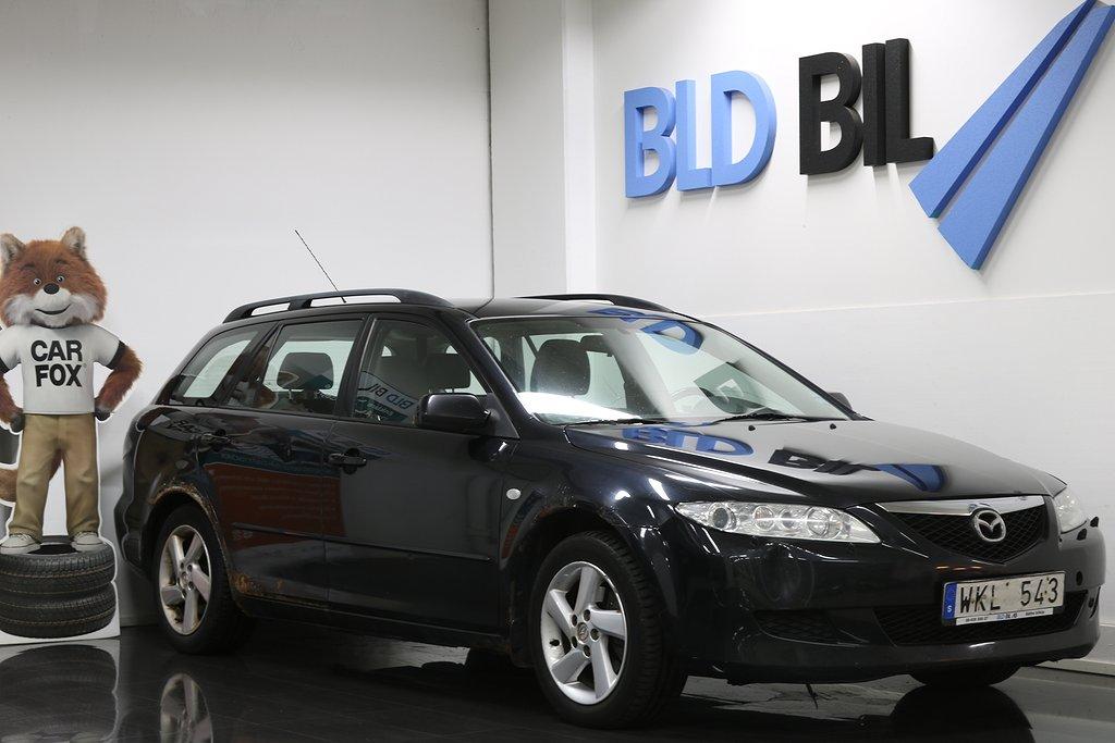 Mazda 6 2.0 AUTO DRAG M-VÄRMARE  141hk