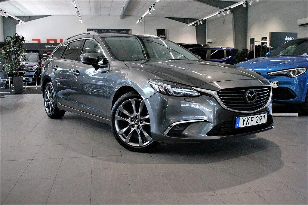 Mazda 6 Wagon Optimum 2.2 DE 175 hk Aut AWD - Webasto