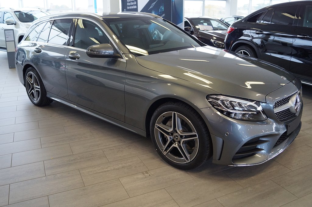 Mercedes-Benz C 200 Kombi / AMG / Värmare / Facelift