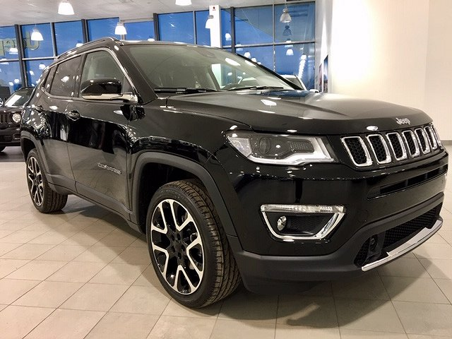 "Jeep Compass ""SERIE 2 LIMITED 1.4 170HK AT9 AWD 19"""" MY19"""