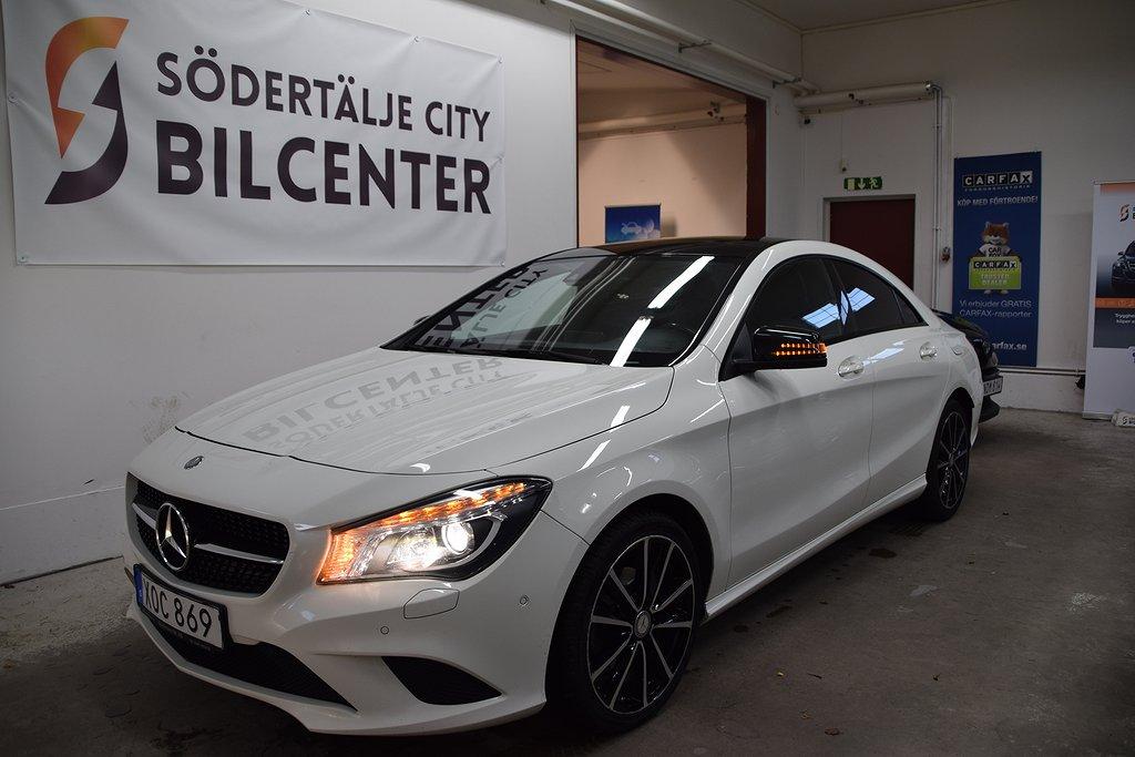 Mercedes-Benz CLA 220 CDI 7G-DCT PANORAMA Euro 6 170HK/SVENSKSÅLD