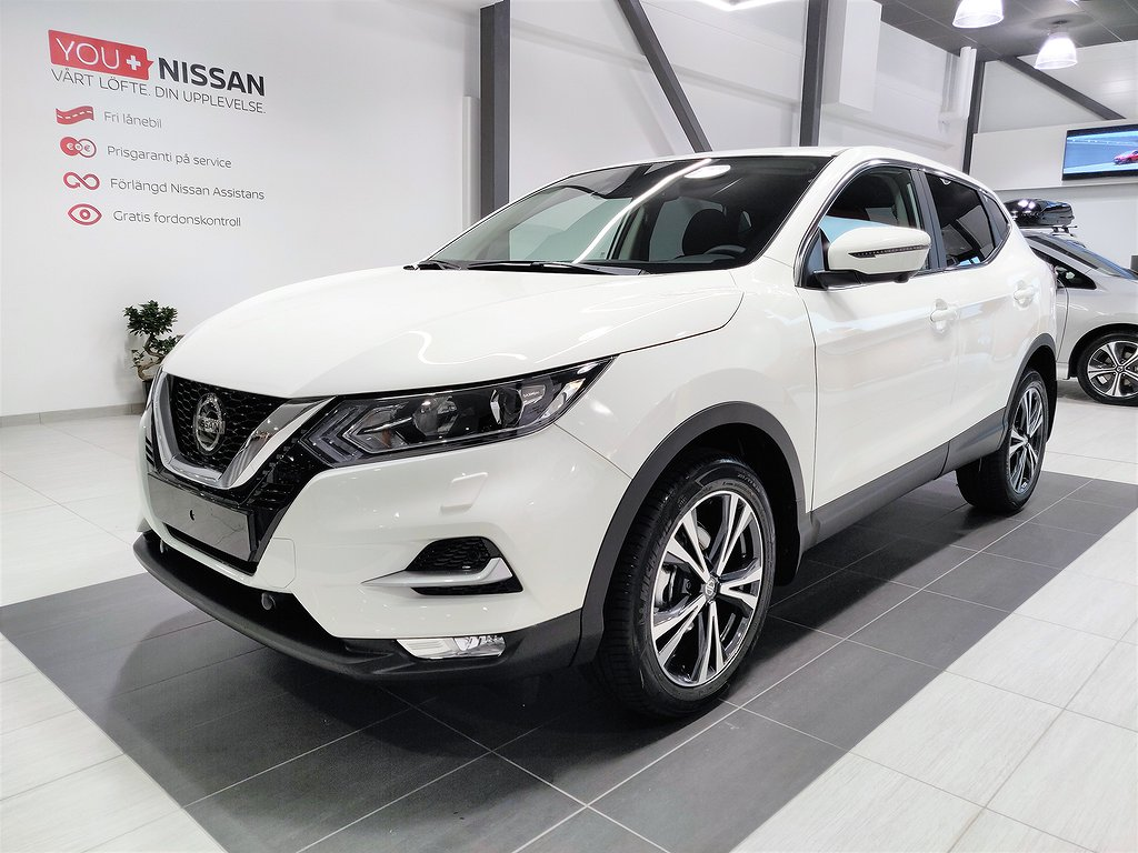 Nissan Qashqai N-CONNECTA 160 HK DCT