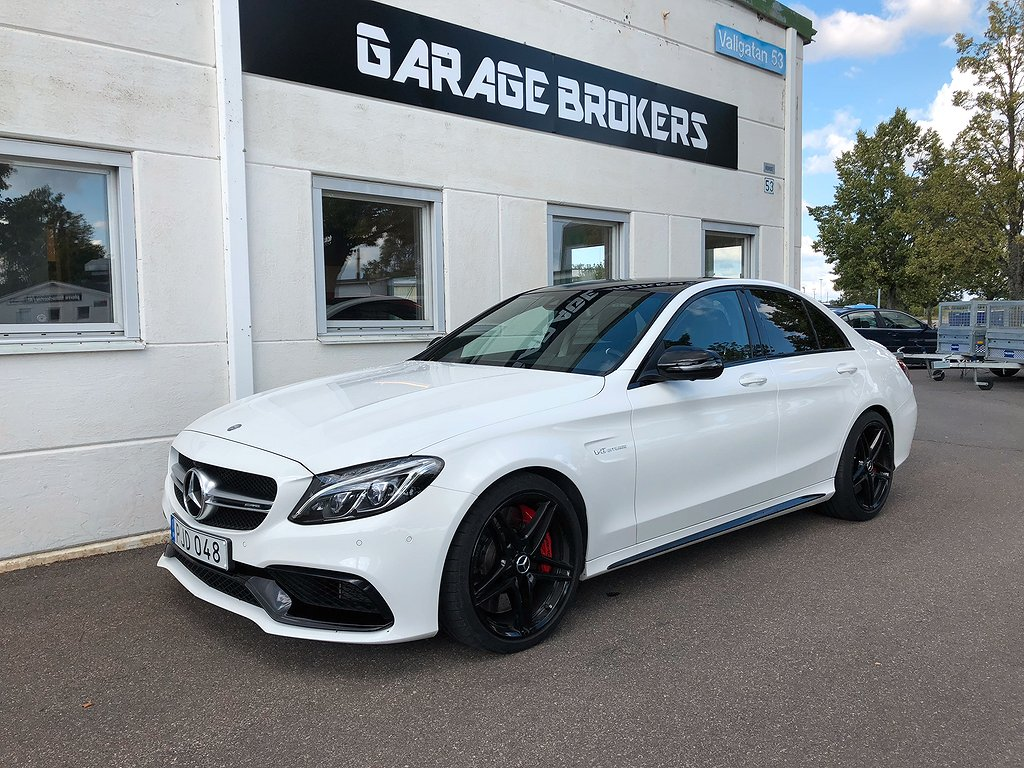 Mercedes-Benz AMG C 63 S AMG / Panorama / Drivers package