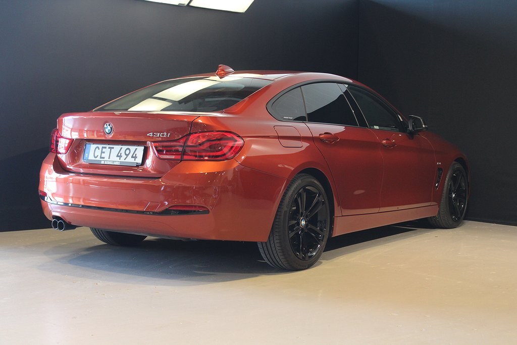 BMW 430 i Gran Coupé Sport 252hk / Leasebar