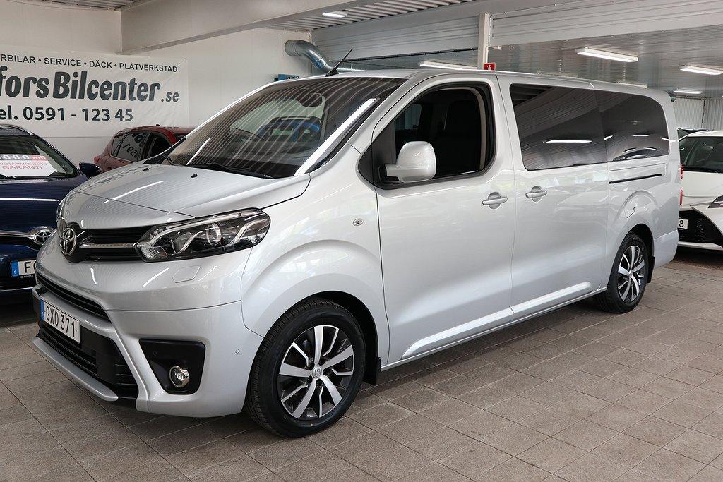 Toyota Proace Verso 2.0D 150hk Premium LÅNG Drag Motorv Vhju