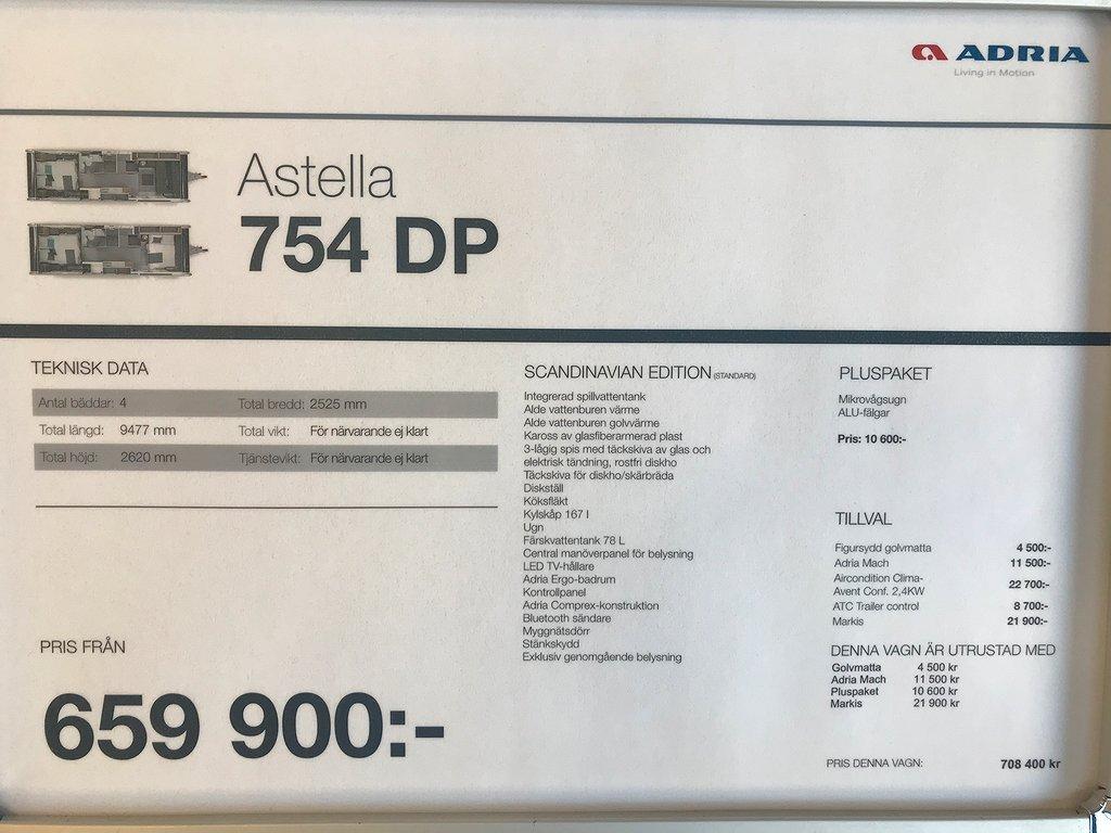 Adria Astella 754 DP - Adria