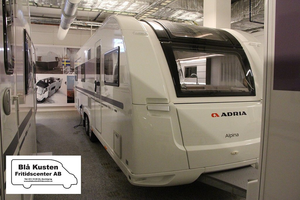 "Adria Alpina 763 UK ""Barnkammare"""
