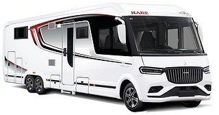 Husbil-integrerad Kabe TRAVEL MASTER IMPERIAL 910 QB