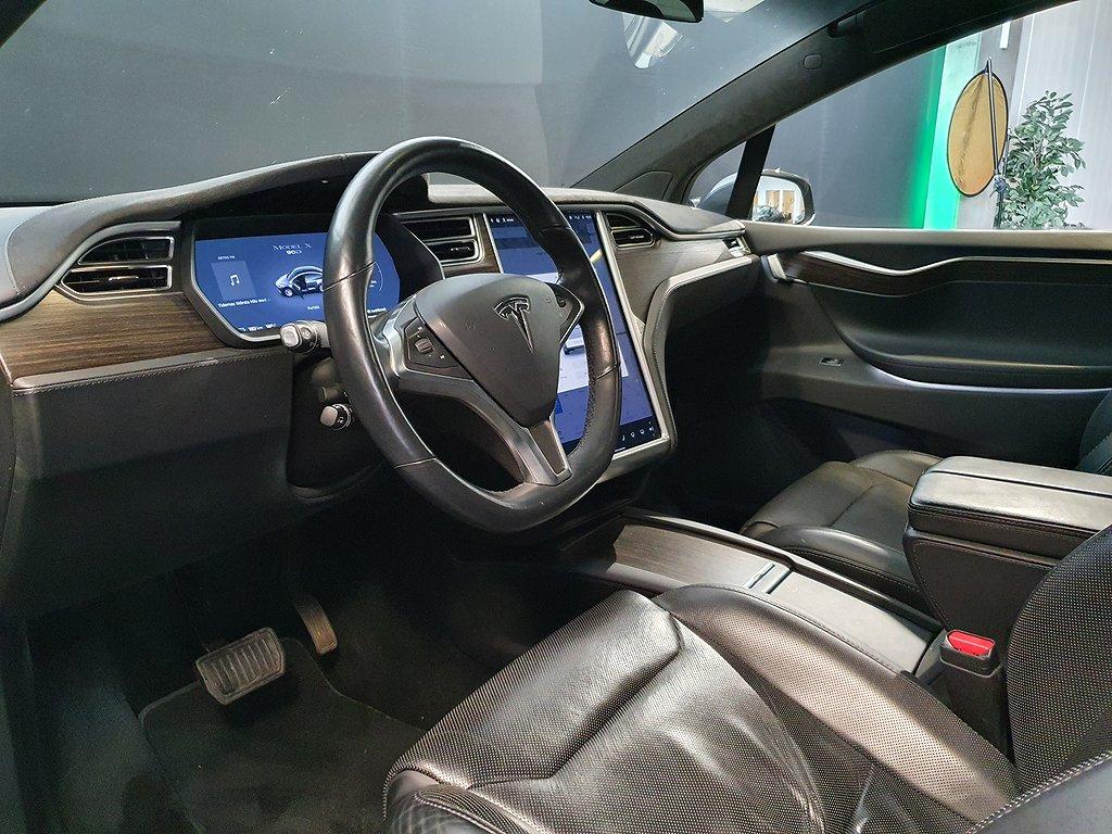 Tesla Model X 90D AWD / 6 sits / Fullutrustad