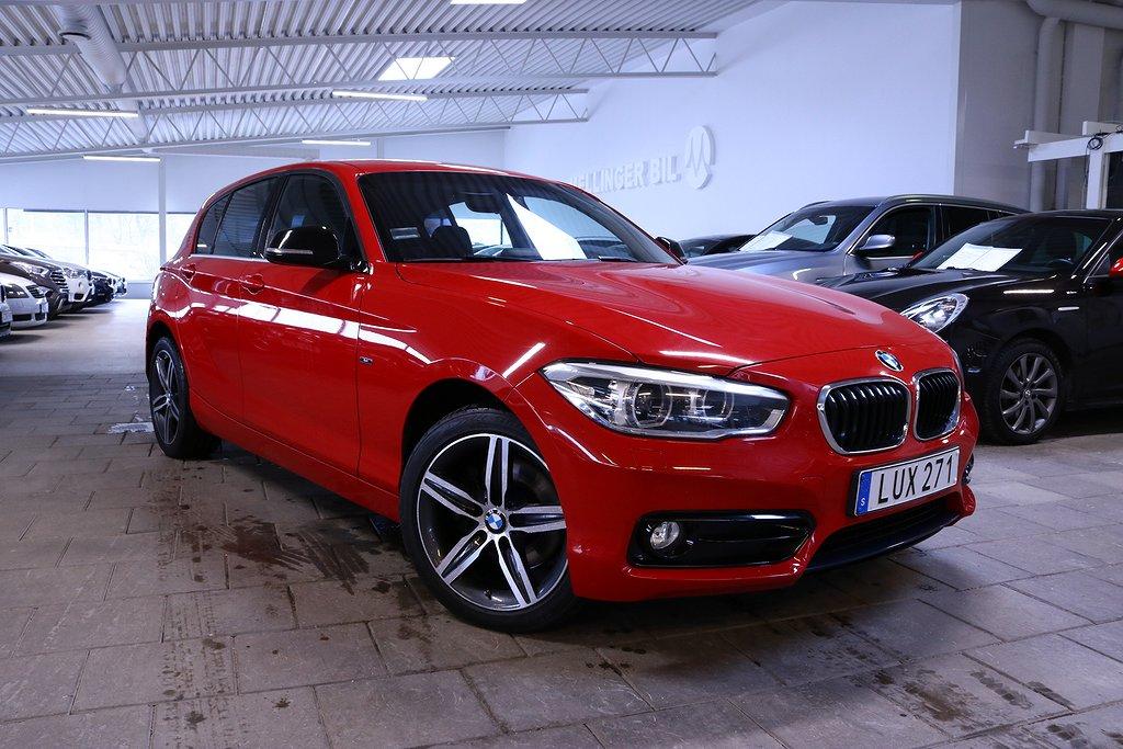 BMW 125 d 224hk Aut Sportline EU6 5dr.