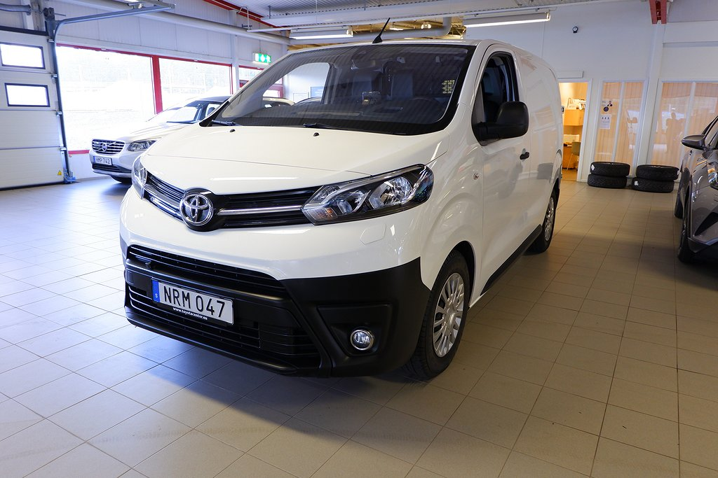 Toyota Proace 1,6 AUTOMAT COMPACT COMFORT GLASADE BAKDÖRRAR