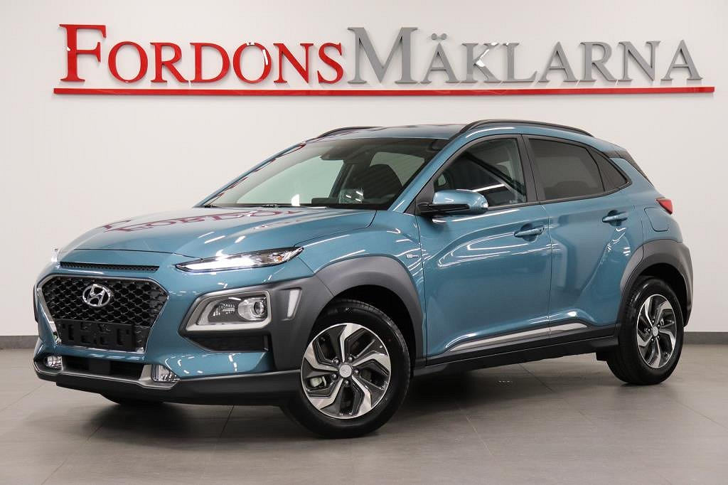 Hyundai Kona HYBRID PREMIUM NAVI KRELL LJUD BLUE LINK SPARA 33.900KR