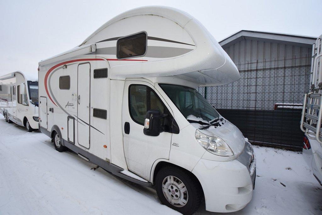 Bürstner A535, familjebil, våningsängar, 835kg lastvikt
