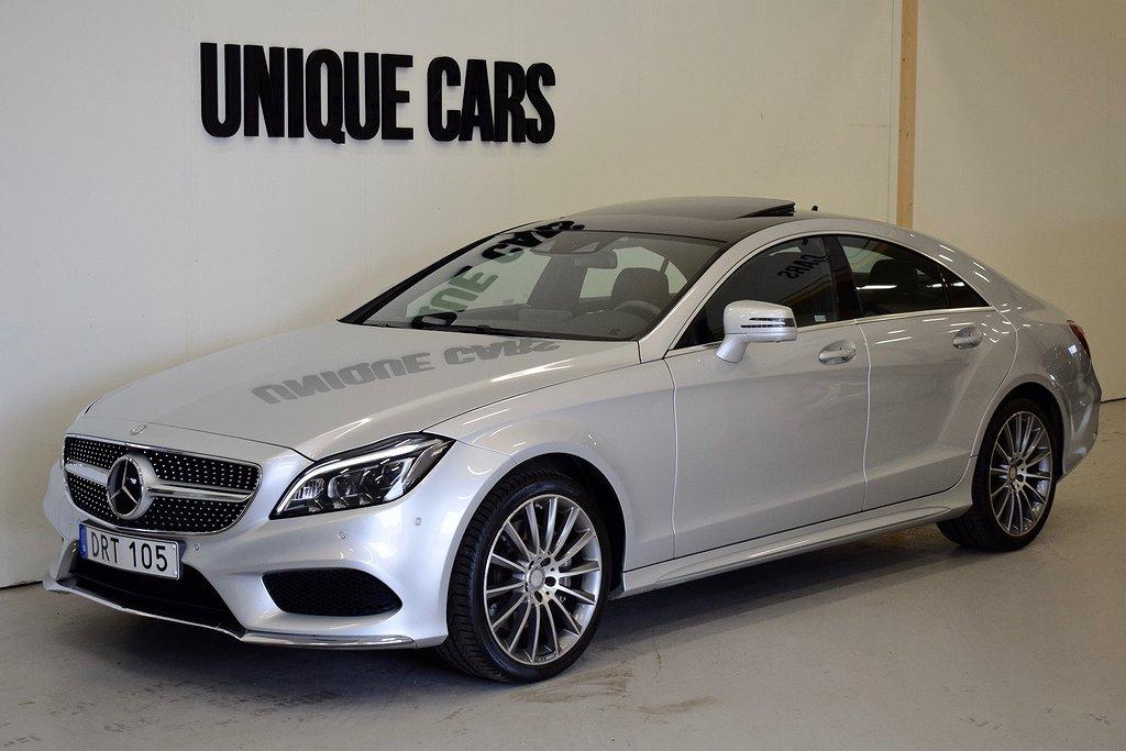 Mercedes-Benz CLS 400 4MATIC AMG Navi Värmare H/K Airmatic