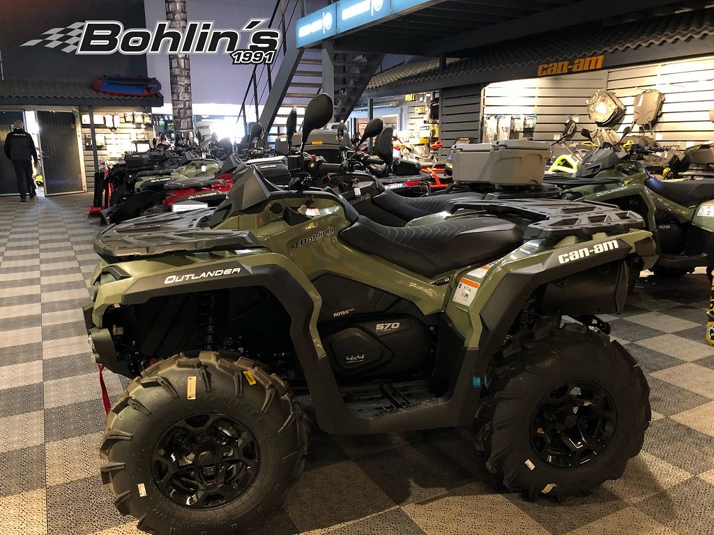 Can-Am Outlander 570 PRO+ T3B -20 *Finns i lager*