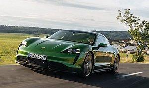 Bildspel: Porsche Taycan på norska vägar