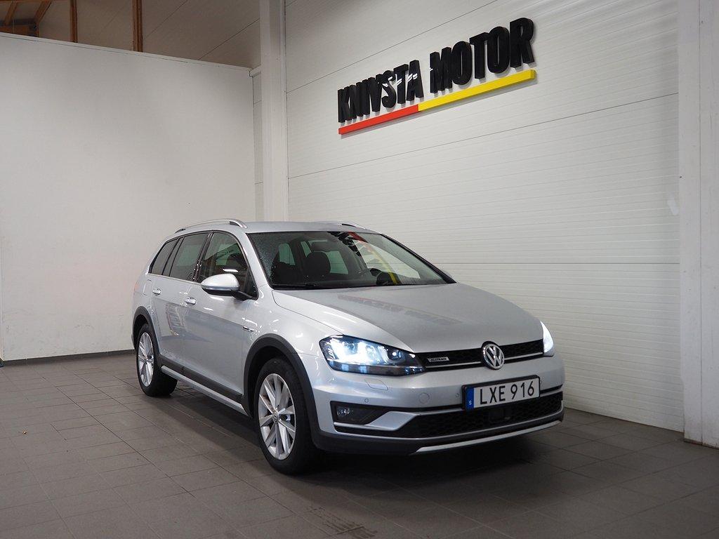 Volkswagen Golf Alltrack TDI 184hk 4M DSG | Drag | D-värm | 2016