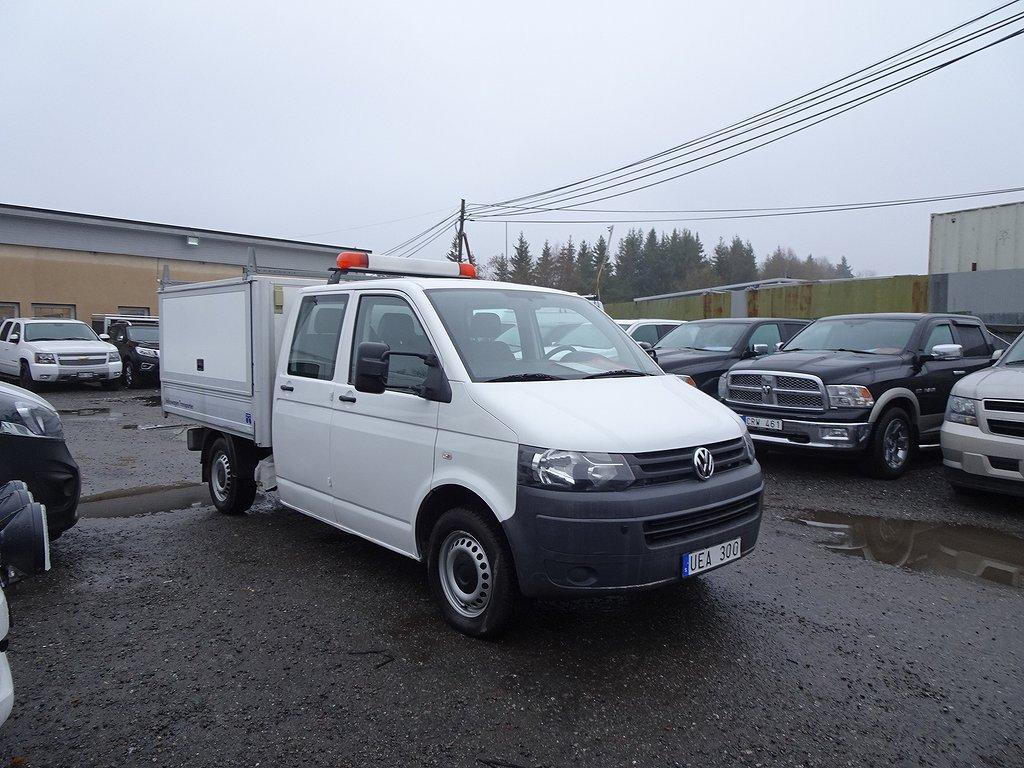 Volkswagen Transporter Pickup D.HYTT+DRAG+Värmare