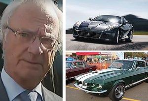 Se listan: Kungens otroliga bilsamling