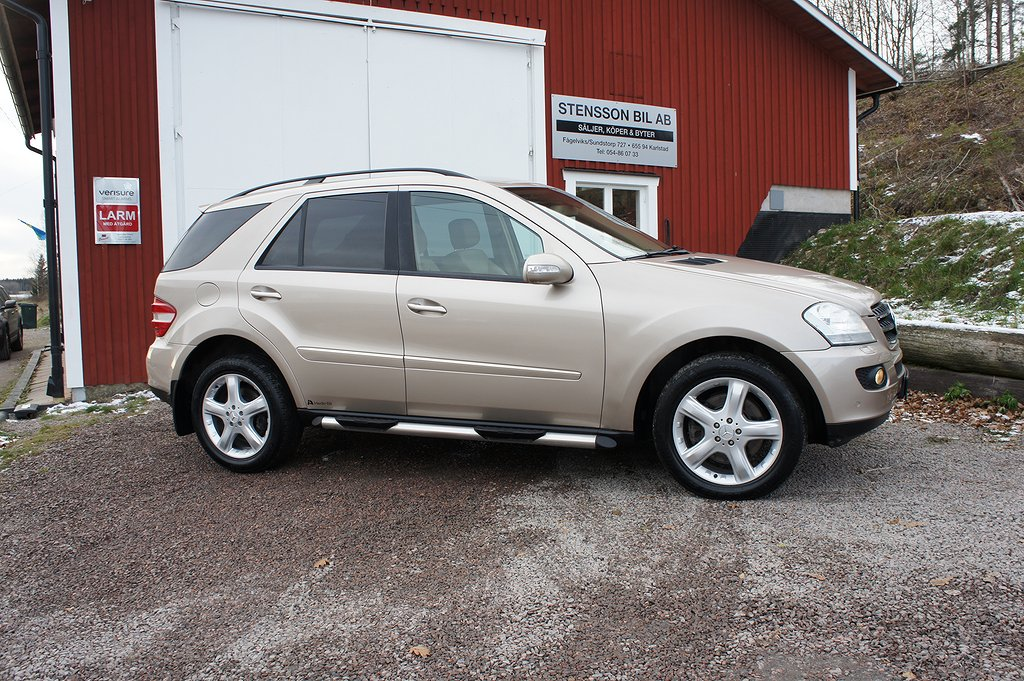 Mercedes-Benz ML 420 CDI 4MATIC 7G-Tronic 306hk