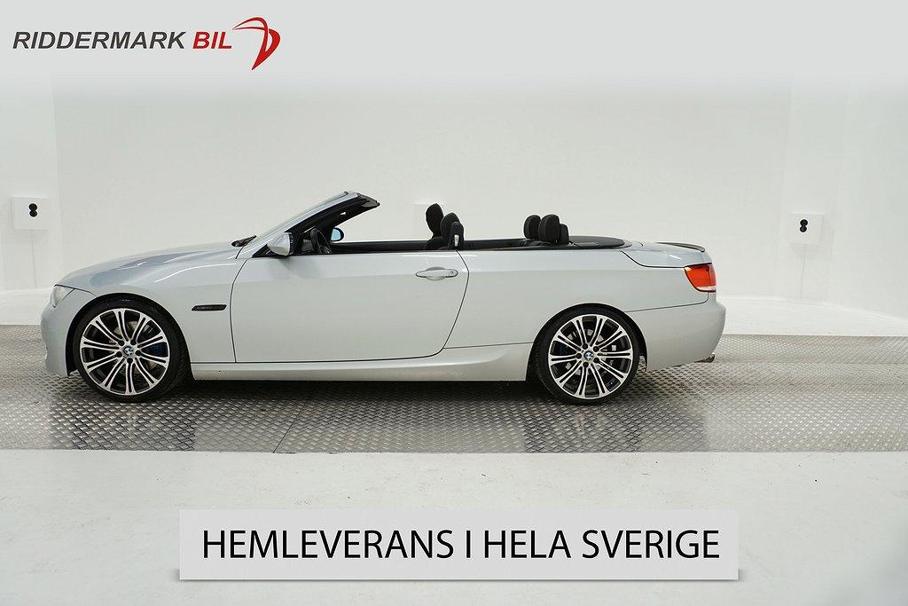 BMW 325i Cabriolet, E93 (218hk)